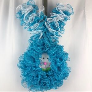 PETER COTTONTAIL Handmade Easter Wreath. NWOT.